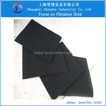 Non-woven Fiber Air Filter Cloth/activated Carbon Sheet