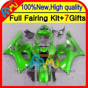 Green Body K3 For SUZUKI GSXR1000 03 04 GSX-R1000 03-04 8#791 GSXR 1000 K3 GSX R1000 2003 2004 GSXR-1000 Fairing Gloss green