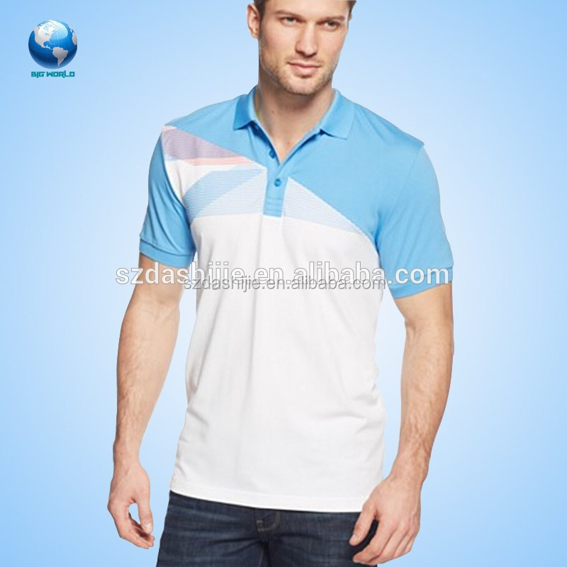 Wholesale 100% polyester polo t shirt ,hot wholesale blank t shirt golf