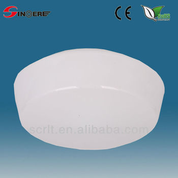 Indoor Modern Milky Opal Glass Flush Round Glass Ceiling Light ...
