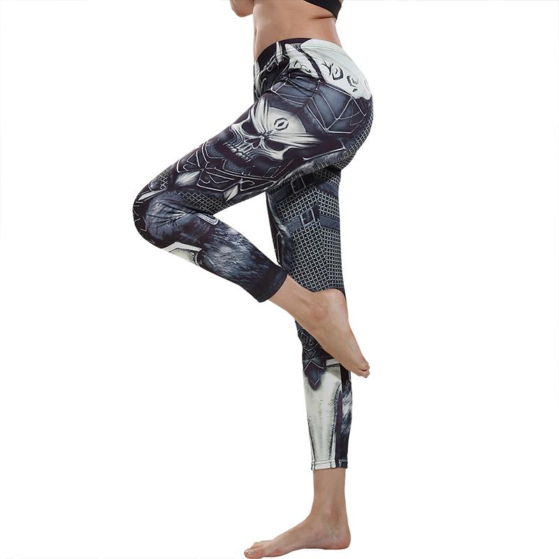 e0b616aa93 Patterned Running Leggings