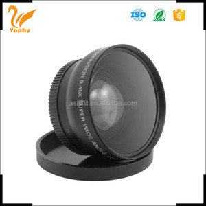 Drop shipping with 52mm 0.45X UV62mm Wide angle lens for sigma lens