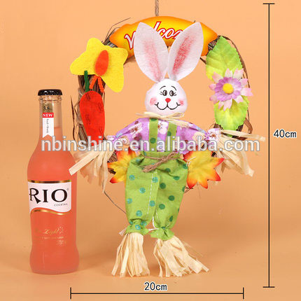 CU2719 Lovely rabbit hanging dolls easter gift for kids