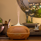 2018 Humidifier Oil Diffuser Alibaba Top Seller Ultrasonic Aroma Diffuser 300ml Wood Grain Humidifier