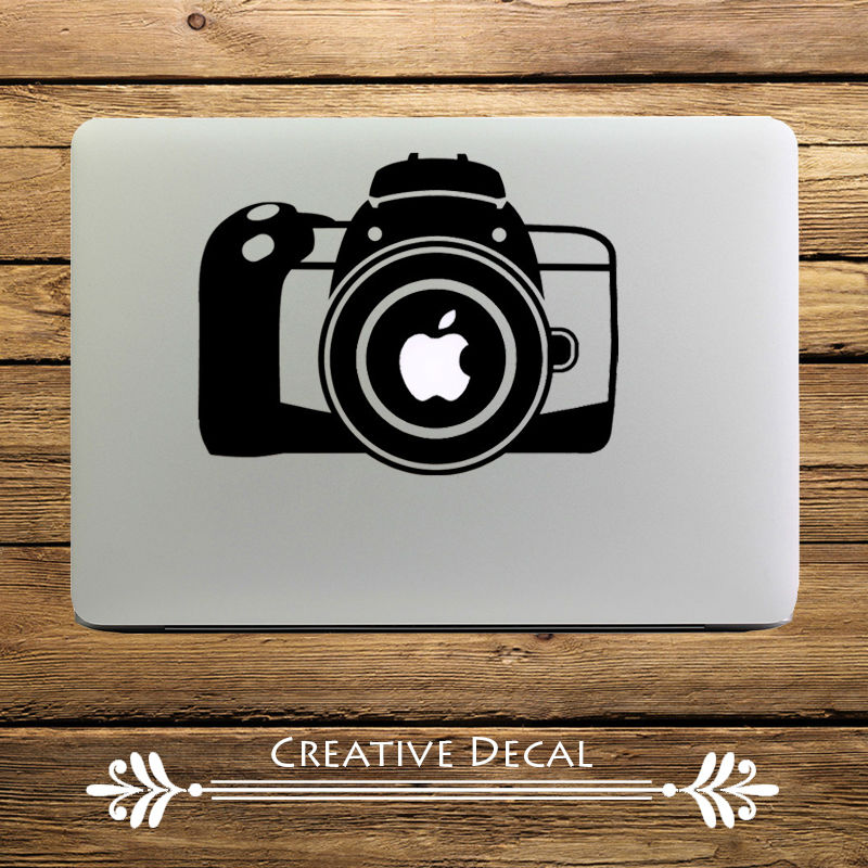 Camera design computer decal laptop sticker for apple macbook air pro retina 11″ 13″ 15″ mac pegatina adesivo para notebook