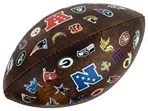 "Vintage Wilson NFL 32 Team 9"" inch Mini Football - Old School Retro Style!"