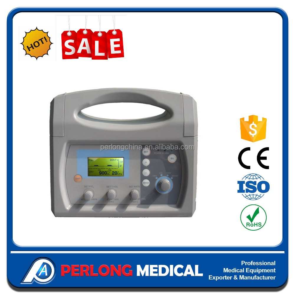 PA-100C First Aid Ambulance Portable Ventilator