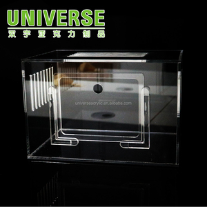 UNIVERSE Durable clear transparent custom acrylic hamster cages