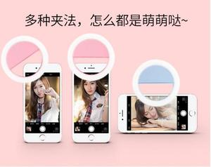 High Quality Selfie Ring Light Portable Flash Led Camera Phone Photography Enhancing Photography for phone