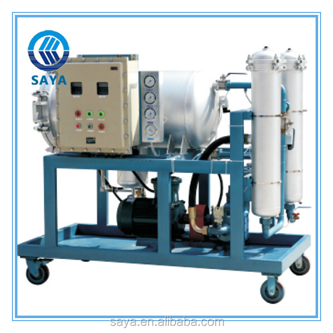 Second grade filtration dehydrated transformer oil purification LYC-200J