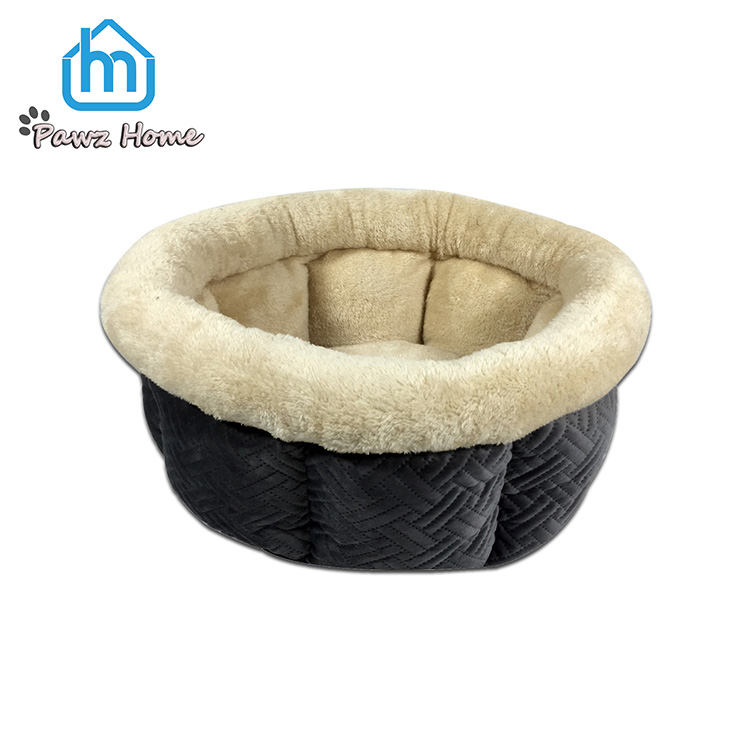 Tunnel Speciale Pet Supply Zachte Pluche Ronde Kat Cave Bed
