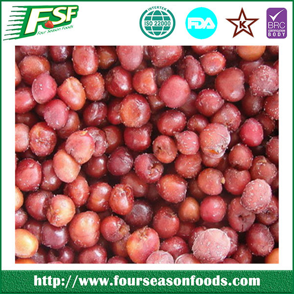 2017 High wholesale iqf red sweet cherry