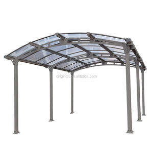 New fashion design low price portable car garage carport with polycarbonate roof