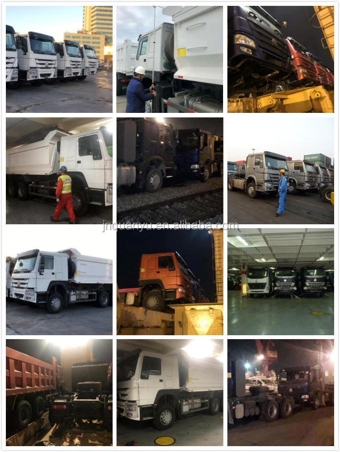 China zware 4 as semi trailer end dumper capaciteit 80 ton