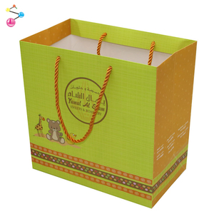 The cartoon design paper bag Baby toys gift bag
