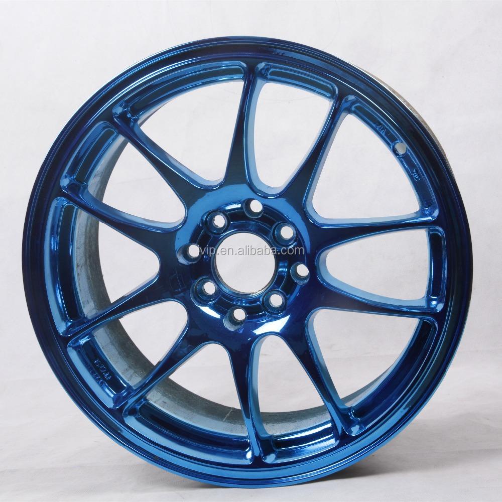 Ivip Nanometer Coating Blue Chrome Car Paint For Wheels