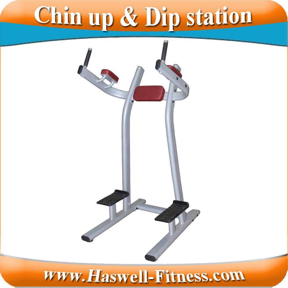 power tower gym/fitness equipment chin up machine/bar and dip station pull up station