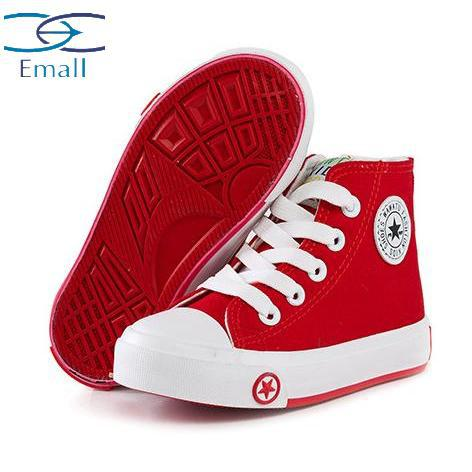96951e2ab Get Quotations · Casual child canvas new children fashion sneakers boys  sneakers high canvas shoes for girls and boys