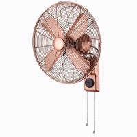 12 inch 35w metal copper classic wall fan wall mounted fan