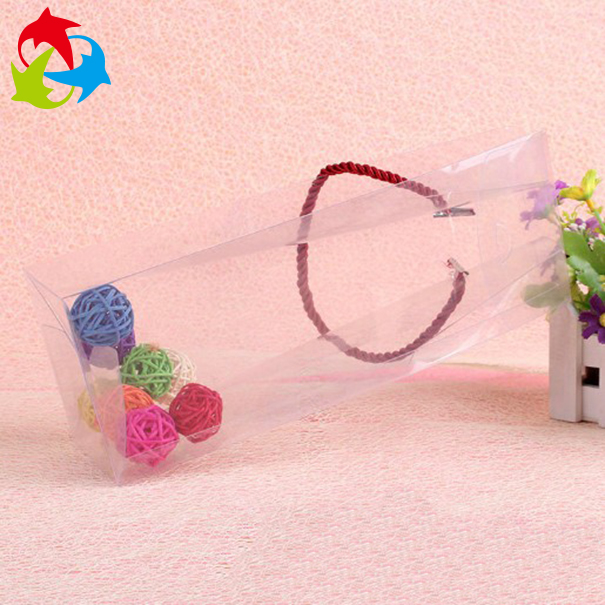 Custom Square Clear Plastic Packaging Gift Boxes