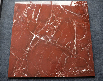 Used Flexible Red Marble Bathroom Floor Tile