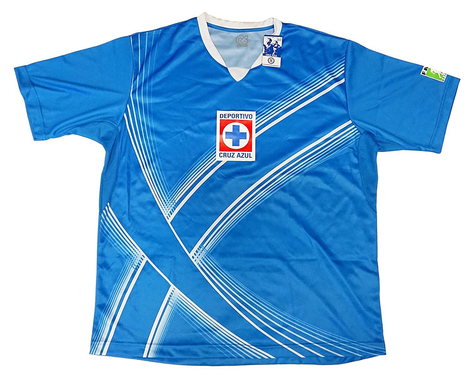 5b650edf Get Quotations · Cruz Azul Jersey Official Licensed by Rhinox Jersey