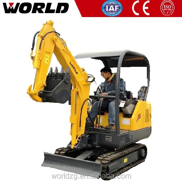 CE-approved mini digger excavator log grapple