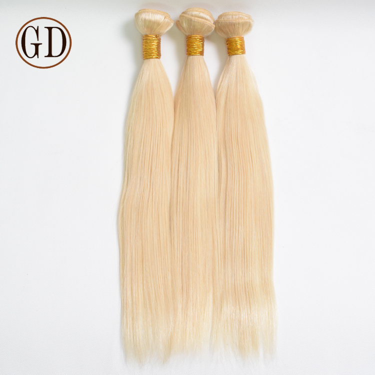 Direct Factory Cheap Price Top Quality No Shedding European Color 613 Blond Human Hair Weave фото