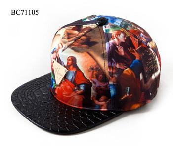 Hater Snapback Cap God Believers Croco Brim Snapback Baseball Cap ... 7da928ae41e