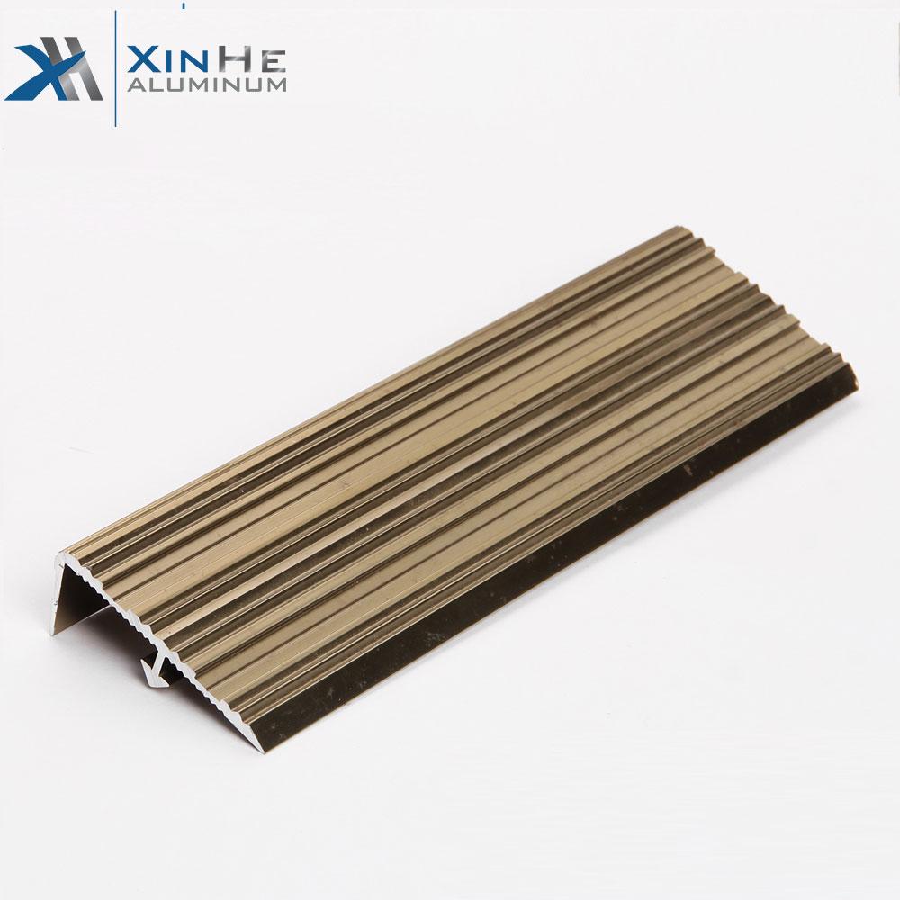 L Shaped Aluminium Edging Strip Profile Bronze Listello Aluminum Metal Corner Tile Trim Angle