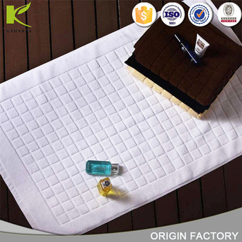 2018 Anti slip durable soft comfortable luxury printed coil polyester Microfiber bathroom bath mat
