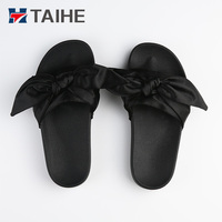 2018 hot girls new design pvc beach slipper for girls