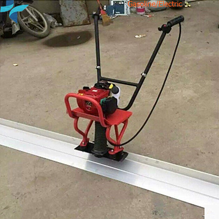 Construction Road Walking Behind Frame Type Gasoline Concrete Floor Leveling Machine