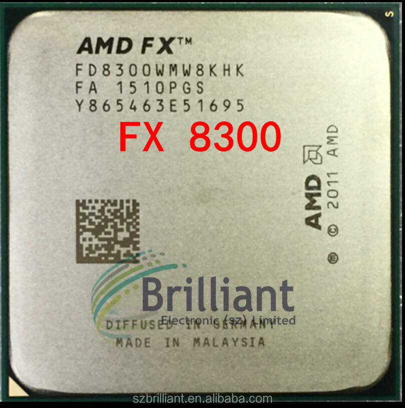 Amd Fx 8300 3 3 Ghz Eight-core 8m Processor Socket Am3+ Cpu 95w Bulk  Package Fx-8300 - Buy Amd Ryzen 5 1400,8 Core,Amd Cpu Product on Alibaba com