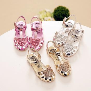 B11317a Kids Girl Sandals Princess