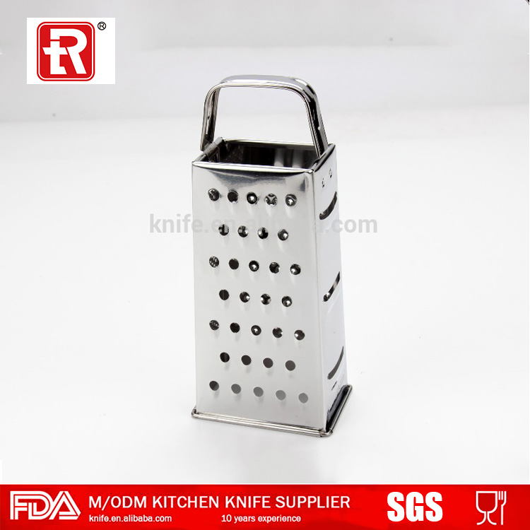 High quality hot sell durable 4 sides stainless steel multi grater set