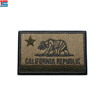 Wholesale Cheap Fashion Free Sample Laser Cut Customized Profession Custom Embroidered Badges Woven Patch For Clothing