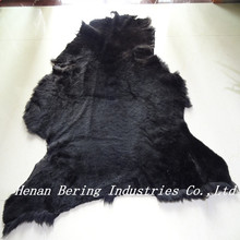 High Density Slink Sheep Skin Tannery Lamb Fur Double Face Leather for Shoe & Garment