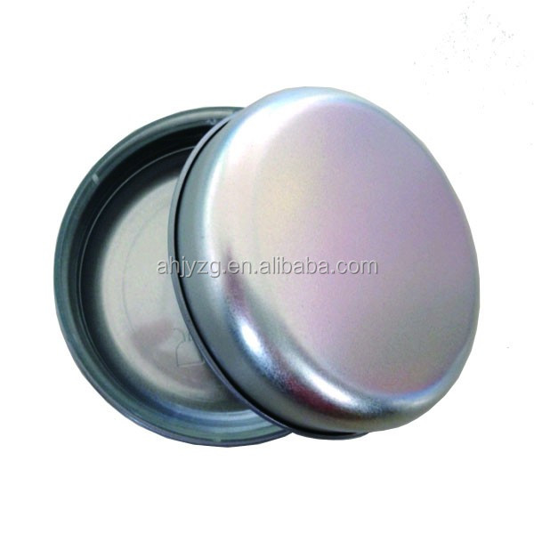 food grade no leak empty round tin can candle packing