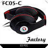Ibrain FC05-C red black air tube earphones for mobile phones and used laptop