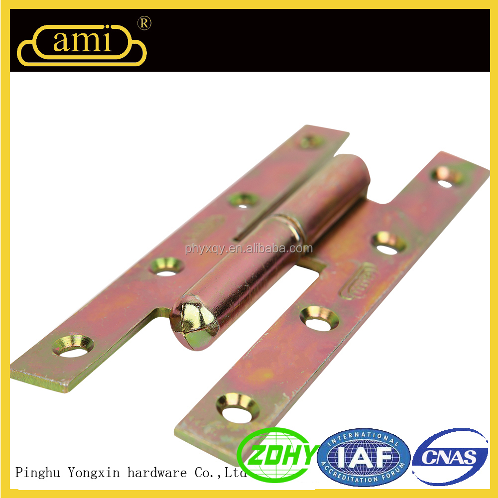 H Type Lift off Zinc Finish Hinge for Wooden Door and Window