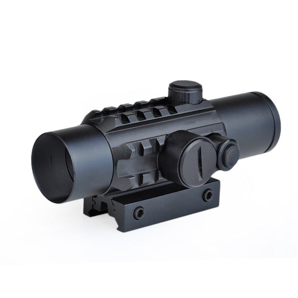 Rail Riflescope Optics Holographic Green Dot Reflex Reticle Tactical Scope