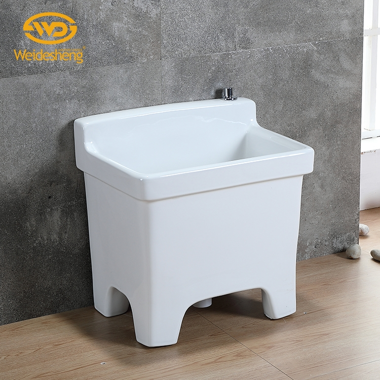 Sanitary ware household holder porcelain ceramic mop tub sink pool basin for garden