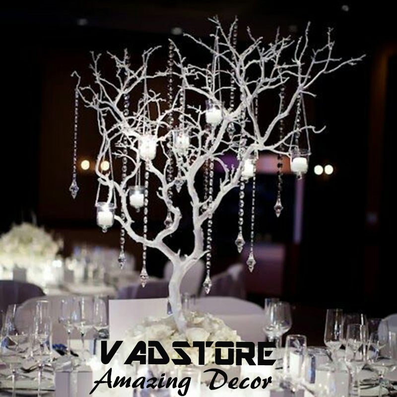 Artifiical White Coffee Branches Tree Without Leaveswedding