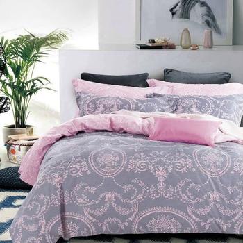 4PCS High Quality Turkish Bedding Set Cotton Printed Bed Sheet