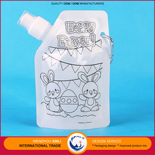 Wholesale Goods From China 350Ml Safe Reusable Foldable Plastic Water Bottles