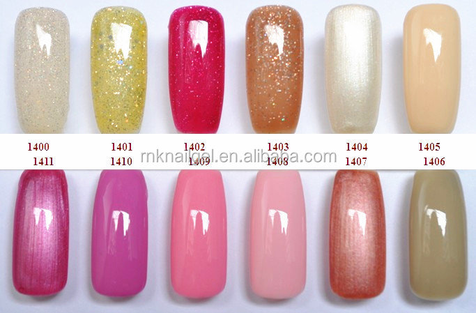 Rnk 135 Colors Soak Off Uv Nail Color Top Lady Nail Polish - Buy Top ...