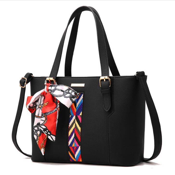Custom vintage crazy Horse ladies PU leather <strong>handbag</strong> tote bag wholesale