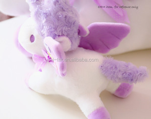 Big eyes factory custom unicorn stuffed animal toys made in china