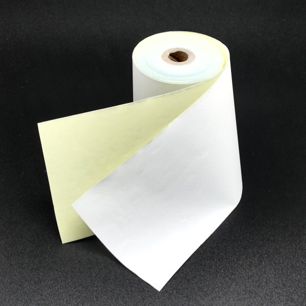 High quality printing copy paper 100% wood pulp blank carbonless paper for dot matrix printer